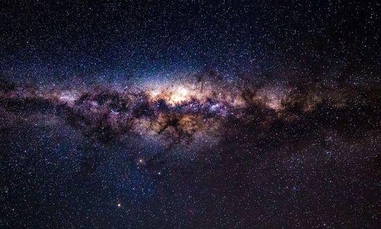 Обои Ночное звездное небо, фотограф Michael Jordanoff