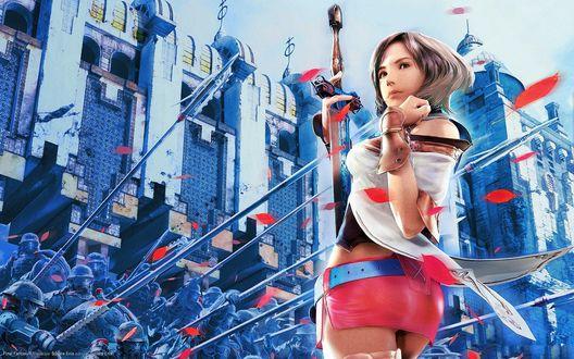 Обои Пенело — подруга Ваана из игры XII Файнару Фантадзи: Цуэрубу / Final Fantasy XII