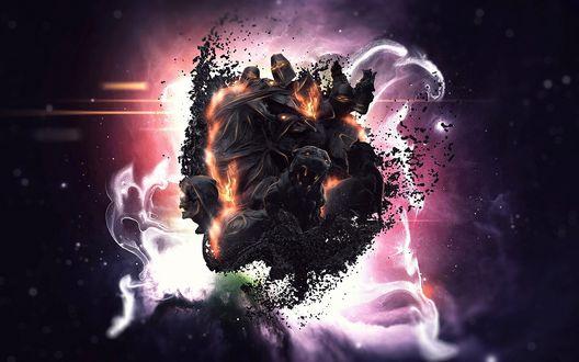Обои Сюжет из выдуманного мира, где боги подвели человечество, компьютерная игра Lords of the Fallen