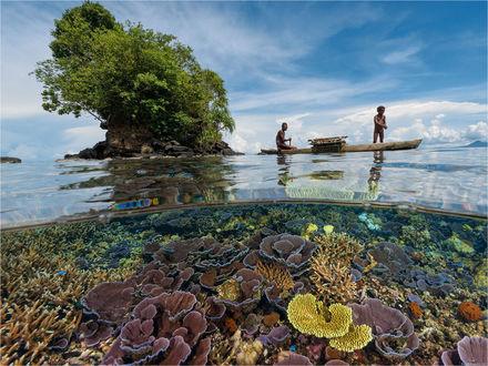 Обои У берегов Papua New Guinea / Папуа — Новая Гвинея