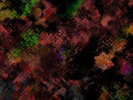 Обои Текстура из разноцветных квадратиков