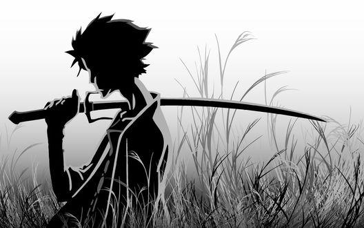 Обои Арт к аниме Samurai Champloo / Самурай Чамплу