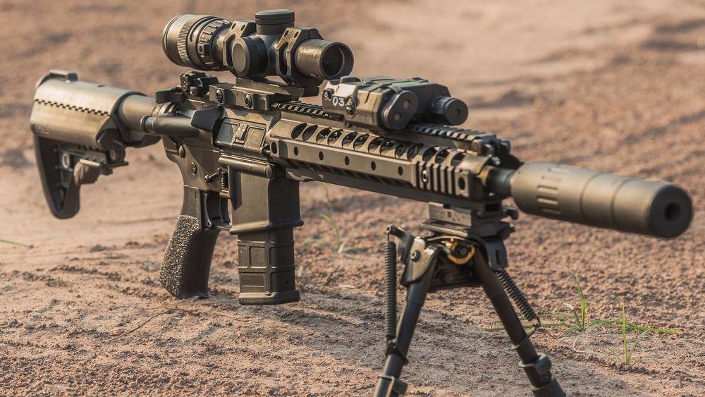 Обои Снайперская винтовка Remington Msr обои для рабочего