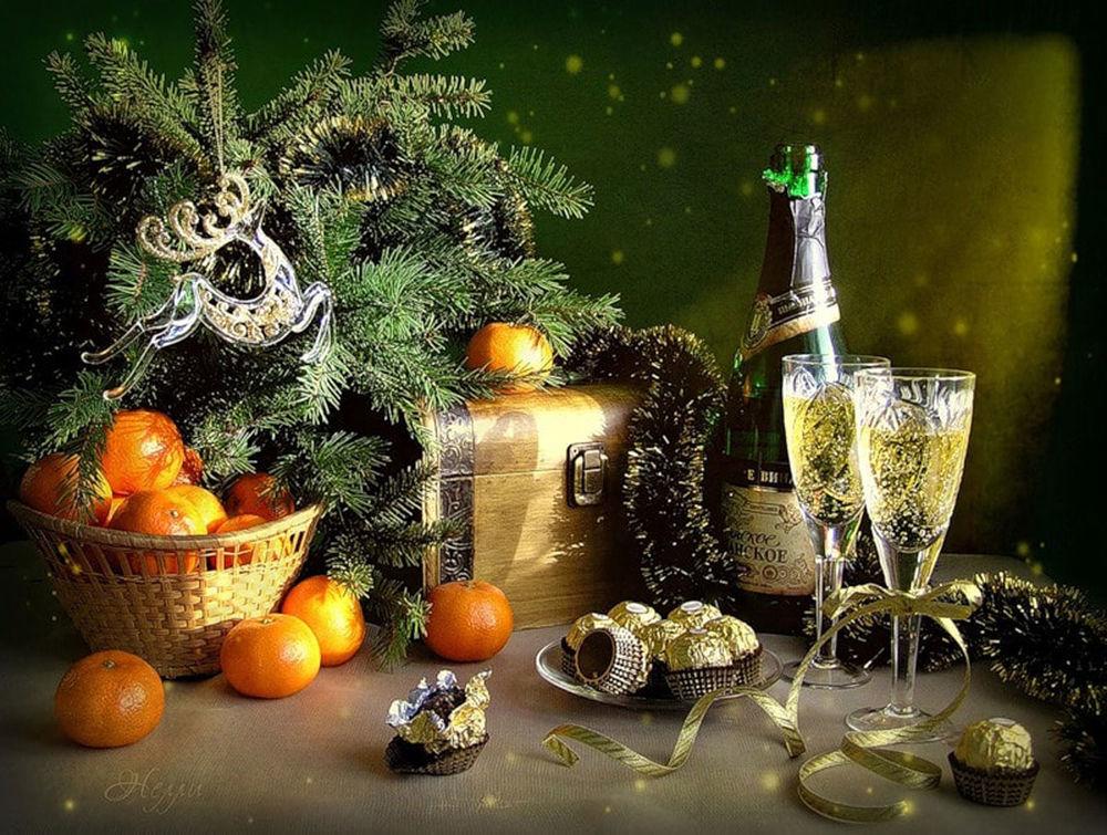 открытки с весельем на новом году обычно делюсь