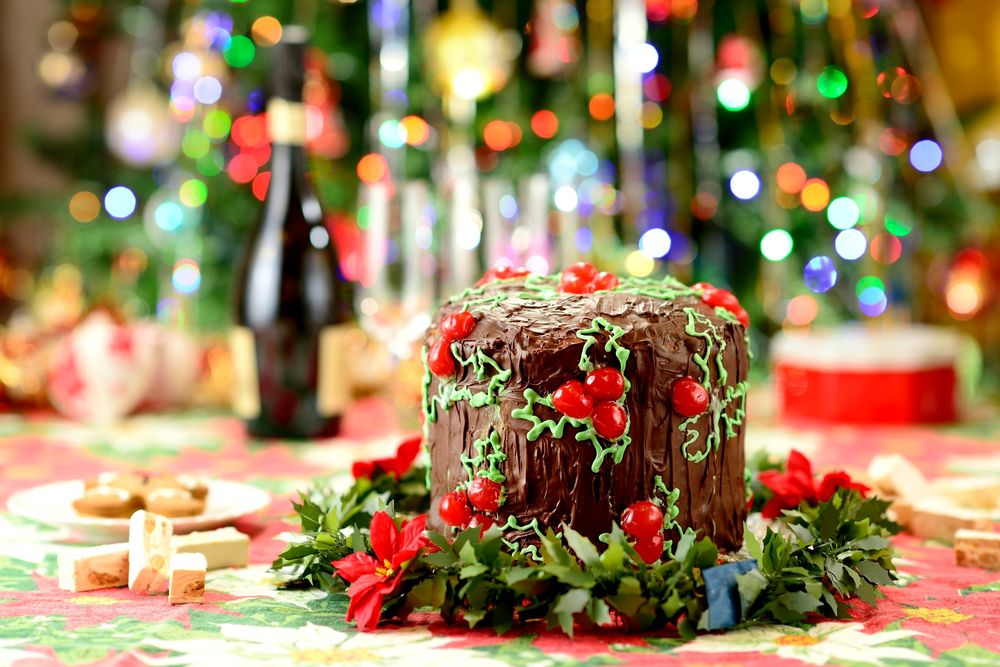 Новогодняя Еда Обои На Рабочий Стол