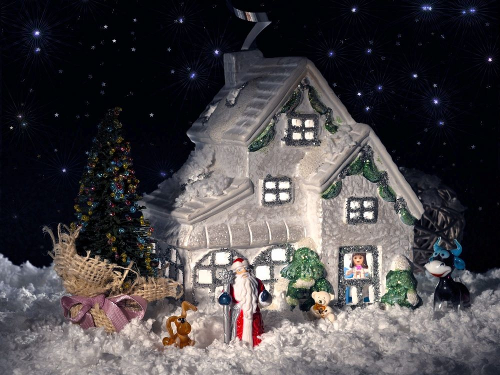 Дед мороз снегурочка в картинках