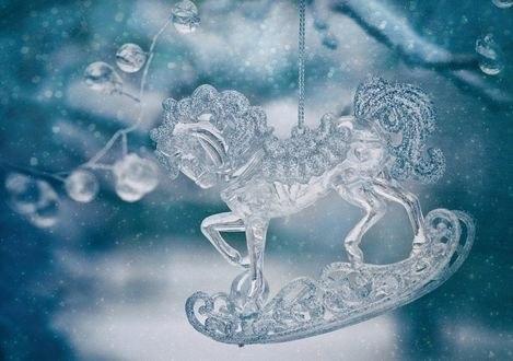 Обои Игрушечный ледяной конек, фотограф Tanya Markova - Nya