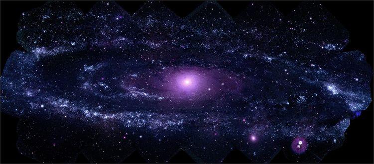Обои Скопление звезд в космосе