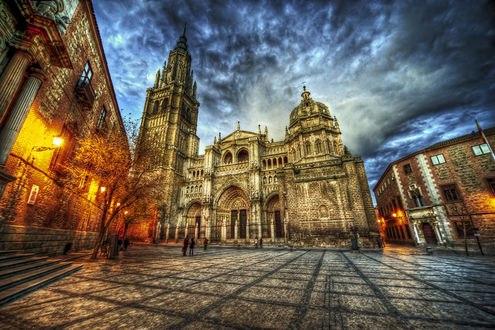 Обои Toledo Cathedral / Толедский собор в Испании