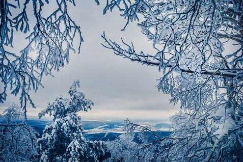 Обои Вид на Урал, фотограф Кристина Пономарева