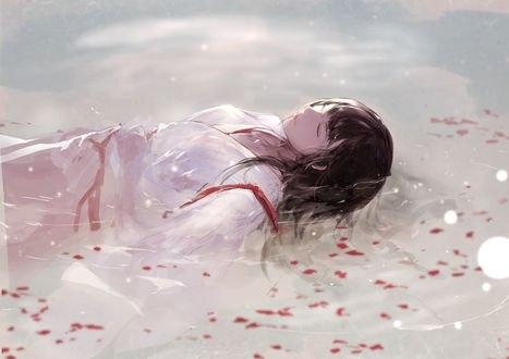 Обои Акаги / Akagi из аниме и игры Флотская коллекция / Kantai Collection, автор Marumoru