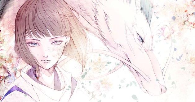 Обои Хаку / Haku из аниме Унесенные Призраками / Spirited Away, by kuroe