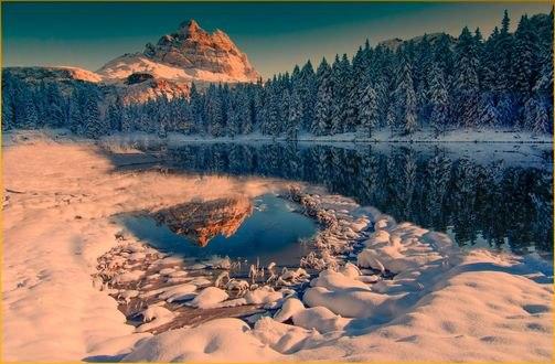 Картинки зима город 480х800