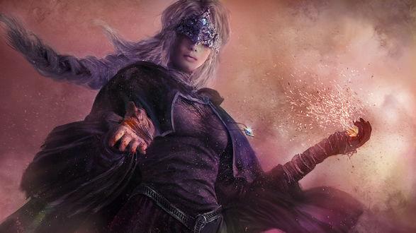 Обои Fire keeper / Хранительница огня из игры Dark Souls / Темные Души, by Eddy-Shinjuku