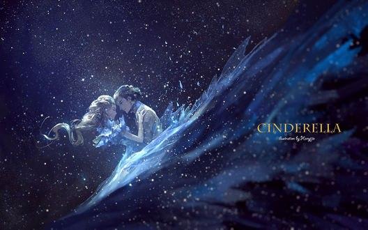 Обои Золушка и принц, by kklaji008 (cinderella)