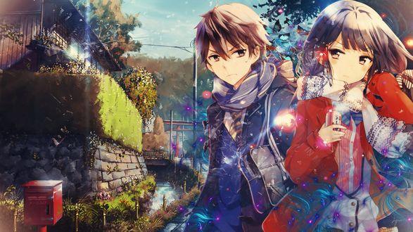 Обои Персонажи из аниме Masamune-kun no revenge / Месть Масамуне куна