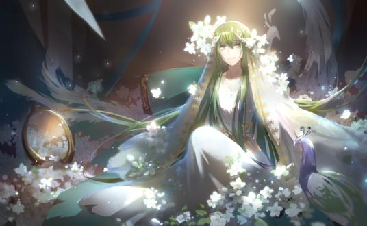 Обои Энкиду / Enkidu из новеллы Судьба / Странная подделка / Fate / strange fake, автор Tebd Menkin