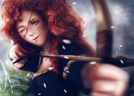Принцесса Мерида / Merida из мультфильма Храбрая сердцем / Brave, by LahArts