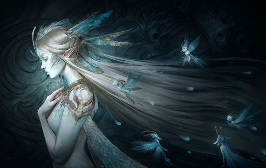 Обои Королева фей, by Skyzocat