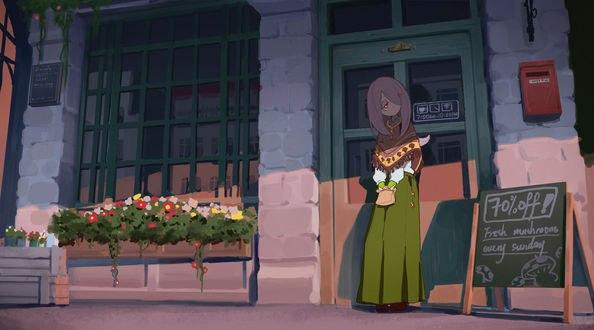 Обои Sucy Manbavaran / Сюси Манбаваран из короткометражного аниме Little Witch Academia / Академия ведьмочек, by Pixiv Id 1077075