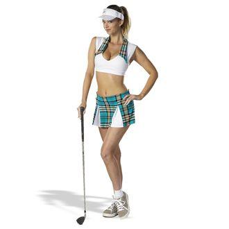 Обои Девушка с клюшкой для гольфа