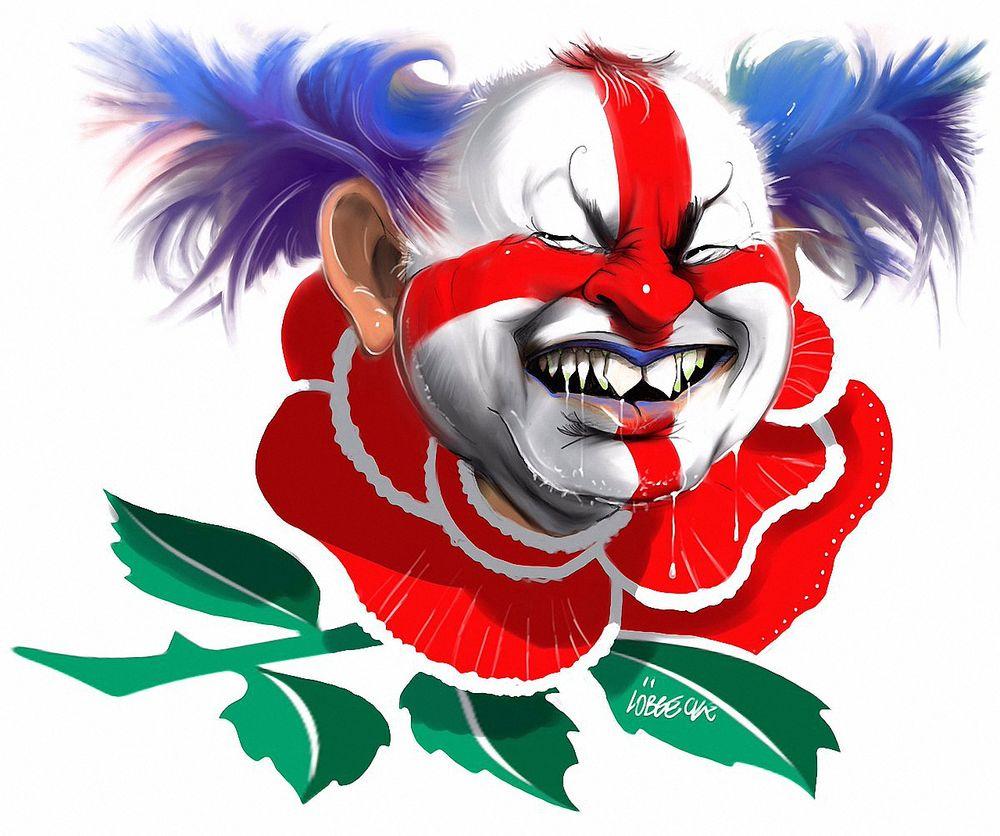 прикольные картинки злых клоунов