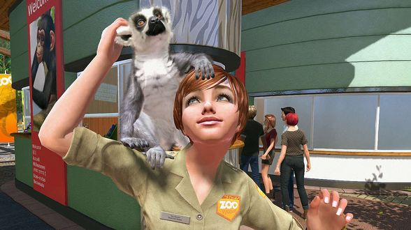 Обои Персонажи серии компьютерных игр Zoo Tycoon