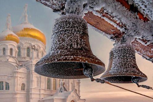 Обои Два колокола в изморози, by Kirmer
