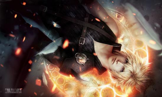 Обои Cloud Strife / Клауд Страйф из игры Final Fantasy / Последняя Фантазия, by Valentina-Remenar