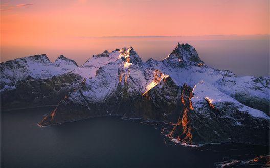 Обои Норвегия, Лофотенские острова, фотограф Михалюк Сергей