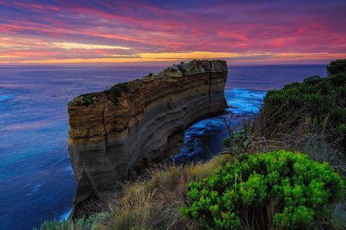 Обои Великая Океанская дорога, Australia / Австралия, фотограф Alex Novickov