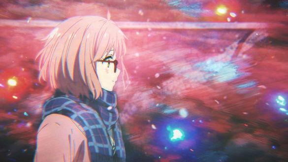 Обои Мирай Курияма / Mirai Kuriyama из аниме Kyoukai no Kanata / За гранью, by ElizabethCute1998