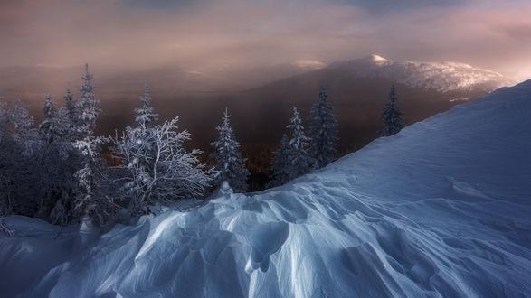 Обои Южный Урал, Национальный Парк Зюраткуль, вид на хребет- Большой Уван, фотограф. marateamanУван