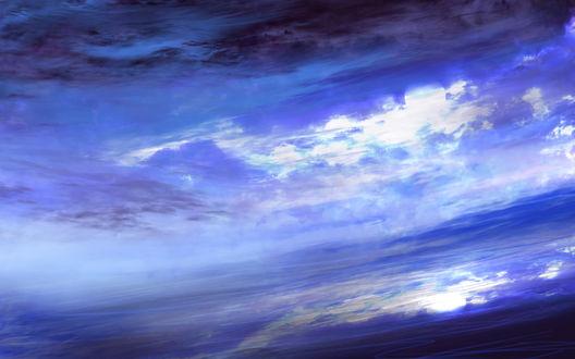 Обои Облачное небо, by saya