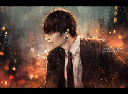 Обои Им Джэ Бом / Im Jae Bum-актер, певец, участник групп JJ Project, GOT7, by NanFe