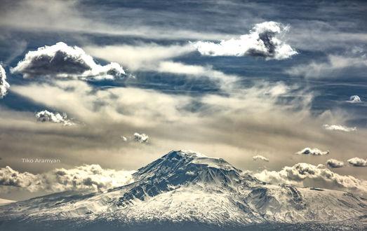 Обои Облака над Араратом. Фотограф Tiko Aramyan