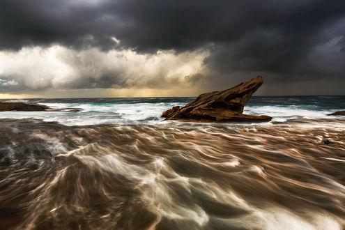 Обои Тучи на небе перед штормом. Фотограф Антон Горлин