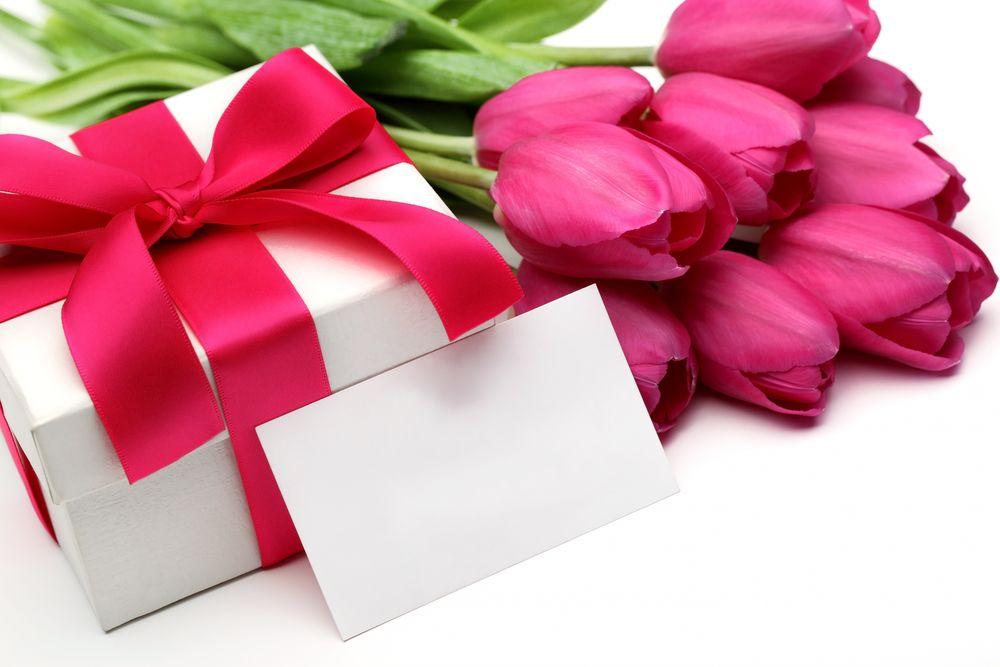 Цветы открытки подарки, днем