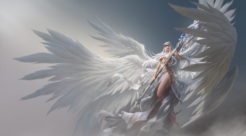 Красивые Обои Ангелов На Рабочий Стол