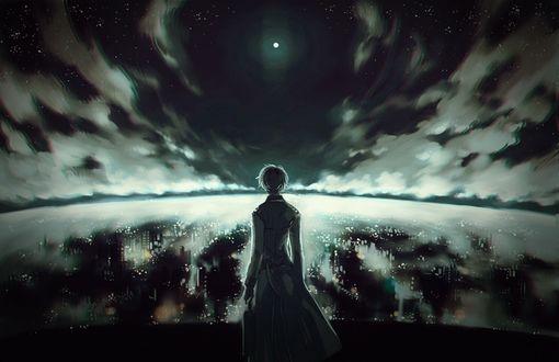 Обои Haise Sasaki / Хайсэ Сасаки из манги Токийский гуль / Tokyo Ghoul, by 降島ツカサ