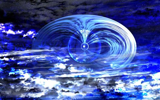 Обои Иллюзия в ночном небе, by saya