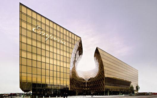 Обои Здание торгового центра Emporia, Malme, Sweden / Мальме, Швеция