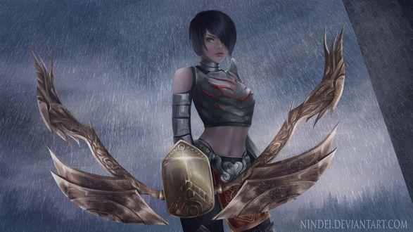 Обои Персонаж из игры Assassins Creed II / Кредо ассасинов II, by Nindei