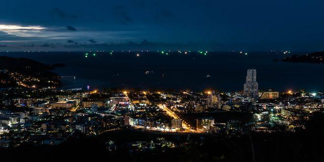 Обои Ночной Патонг, Таиланд