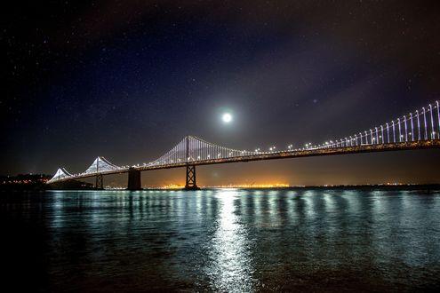 Обои Мост между Сан-Франциско и Оклендом