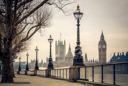 Обои Биг-Бен и здание парламента, Лондон