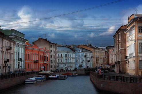 Обои Канал в Санкт-Петербурге
