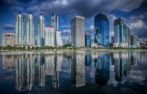 Обои Небоскребы в Бангкоке