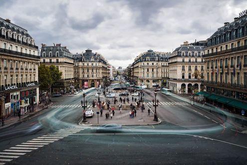 Обои Площадь в Париже