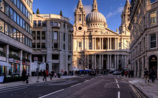 Обои Собор Святого Павла в Лондоне